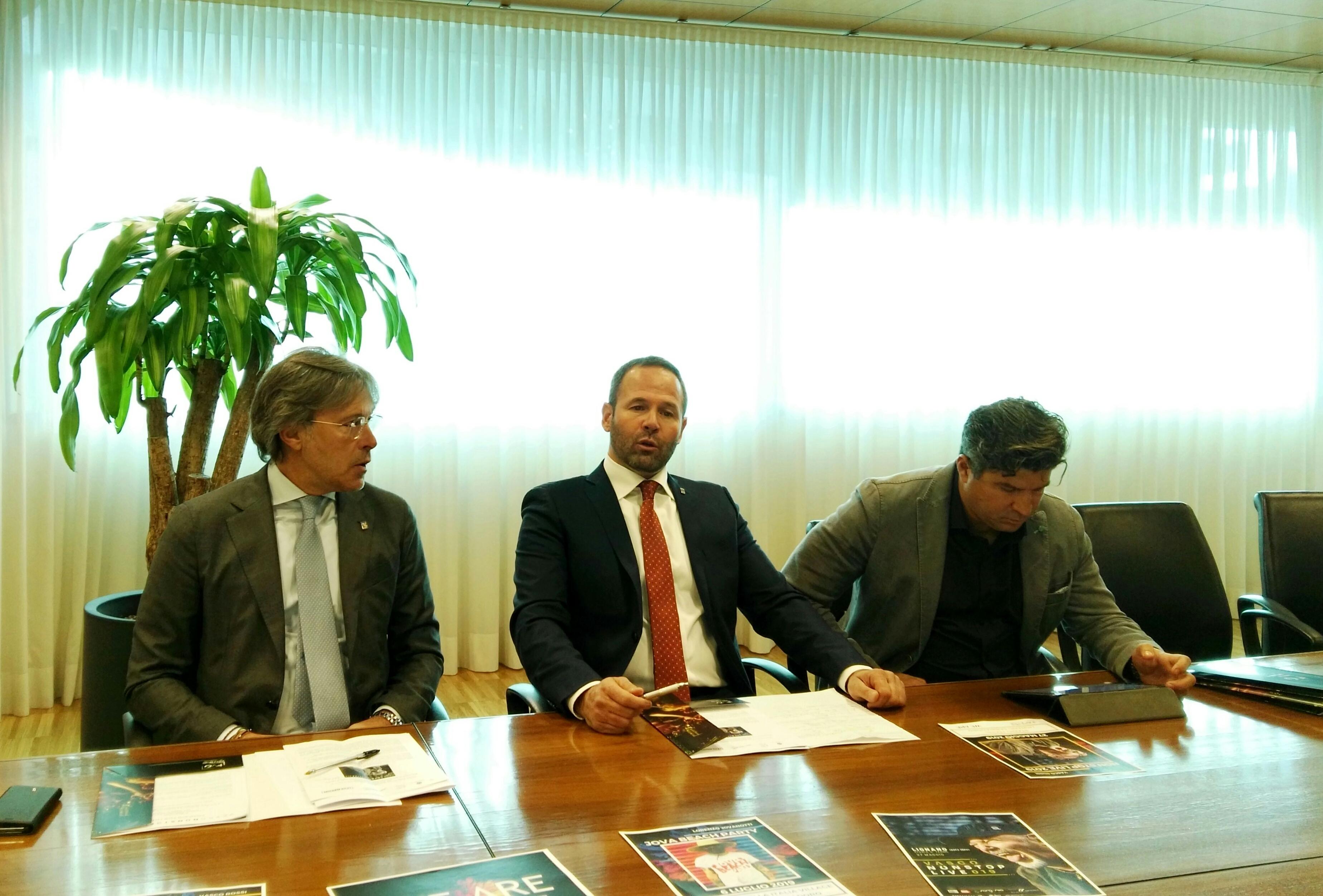 Conferenza stampa per il concerto di Vasco-2