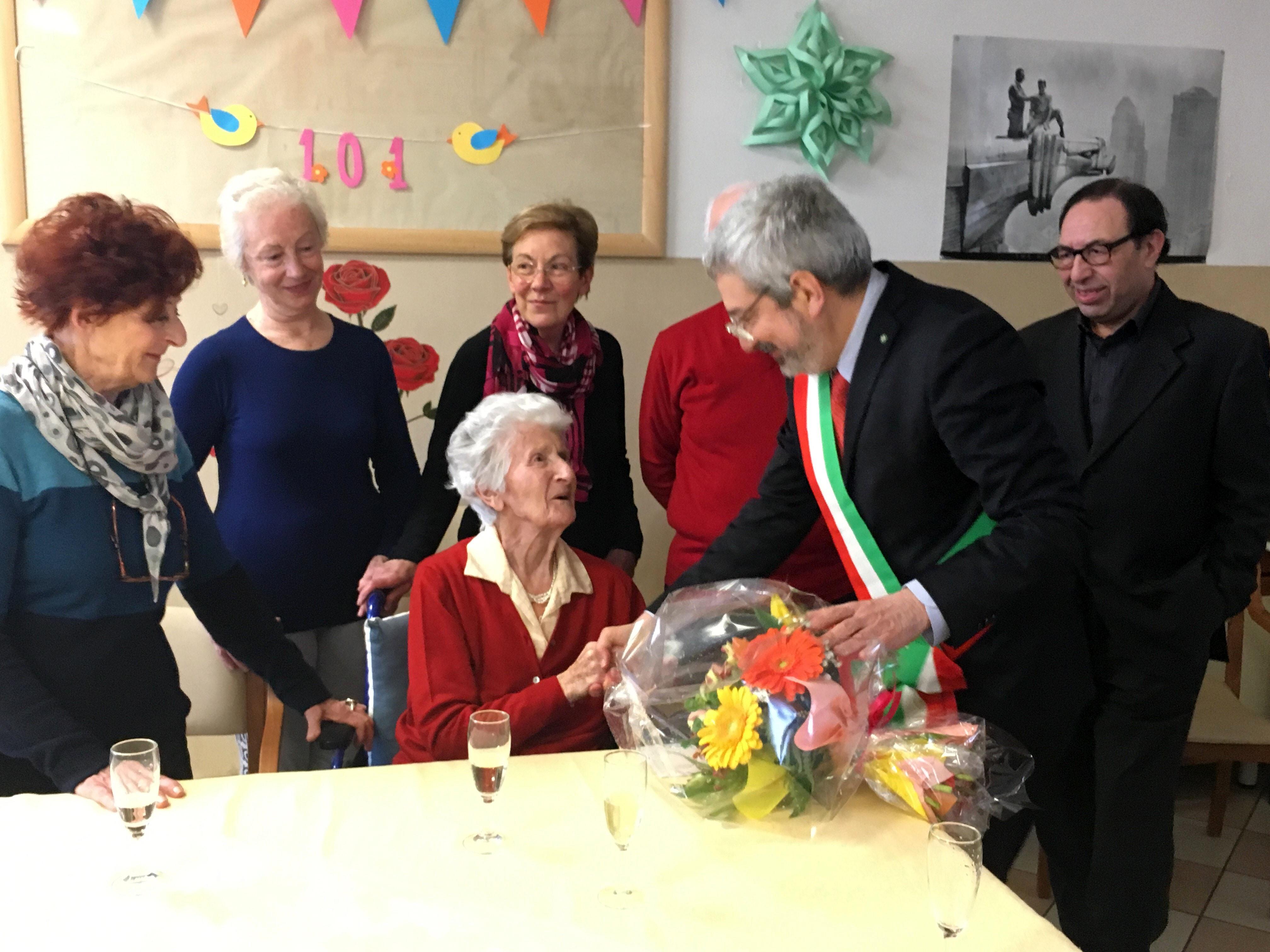 Maddalena Barazzutti ha spento 101 candeline a La Quiete-2