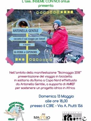 bicimaggio 2018. in bicicletta da roma a capo nord. il viaggio di antonella gentile.