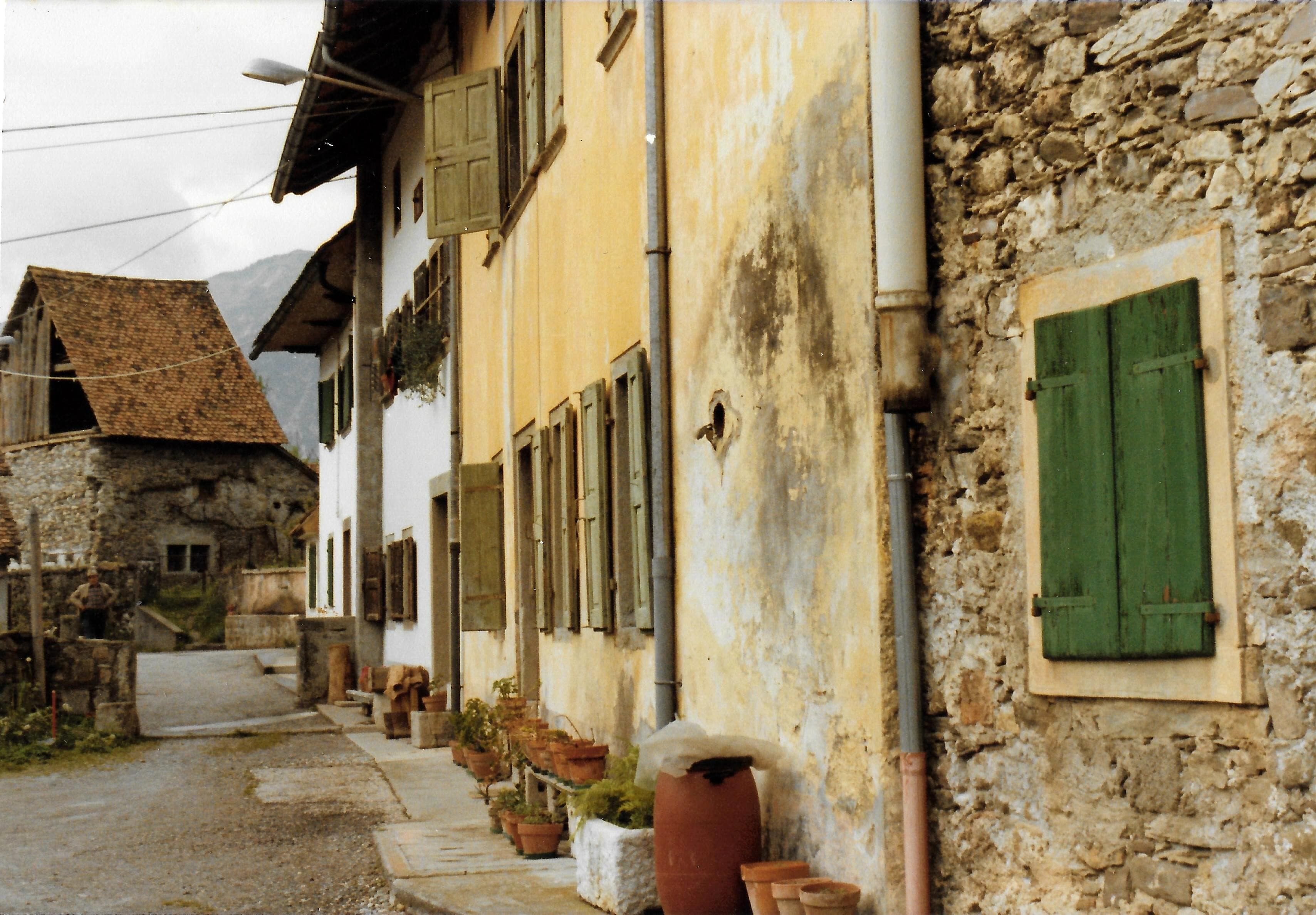 Borgo di Sopra di Ovaro negli anni '60-2