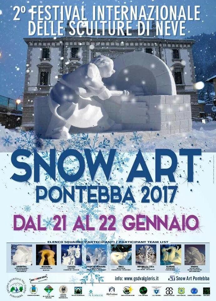 manifesto SNOW ART Pontebba-2