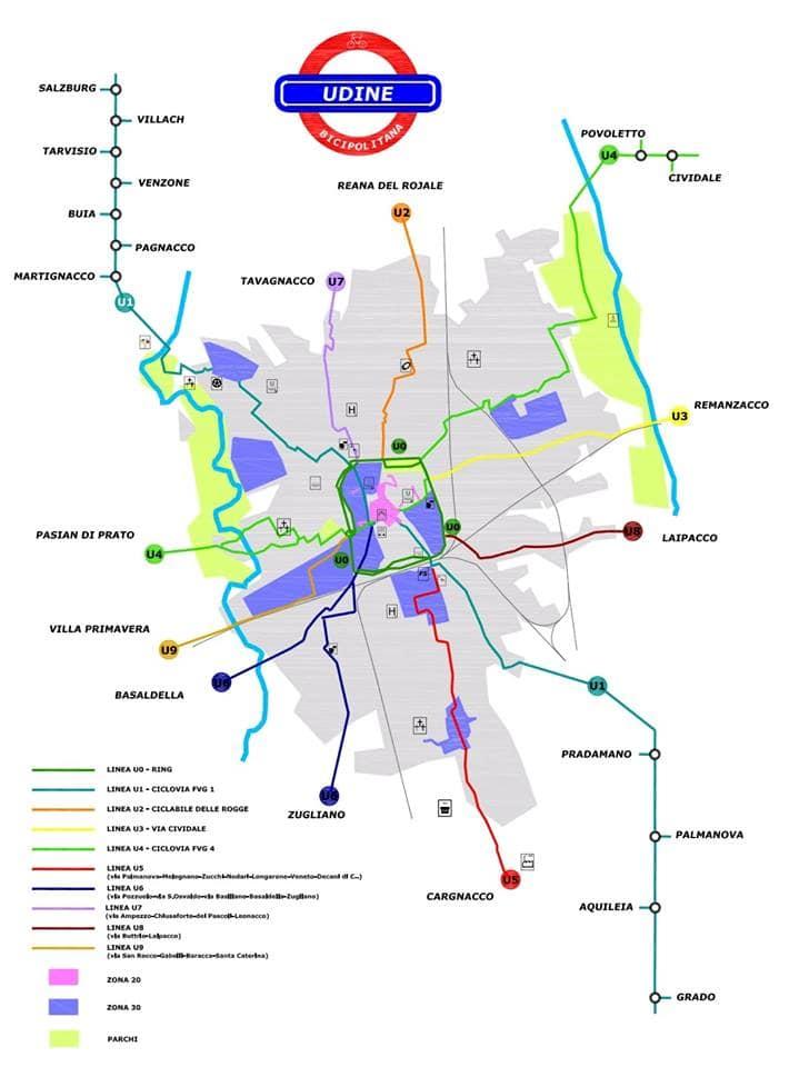 Bicipolitana di Udine-2