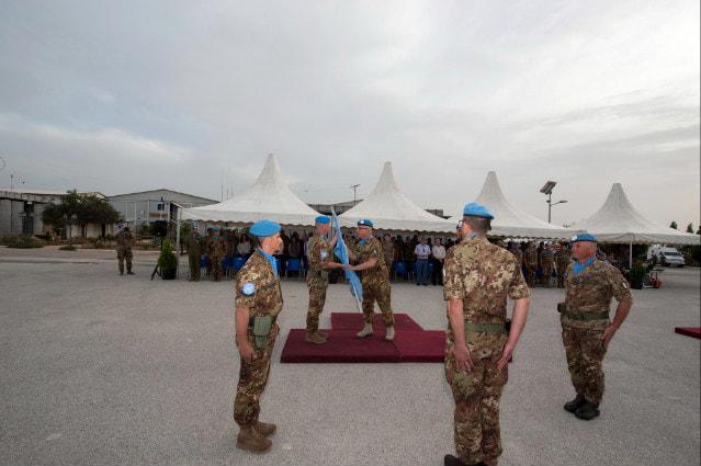 Missione in Libano, la Julia prende il comando del Combat Service Support Battalion-3