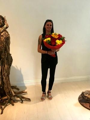 """""""l'energia della materia"""", mostra personale scultorea di alessandra aita in concomitanza con il 58° festival di majano"""
