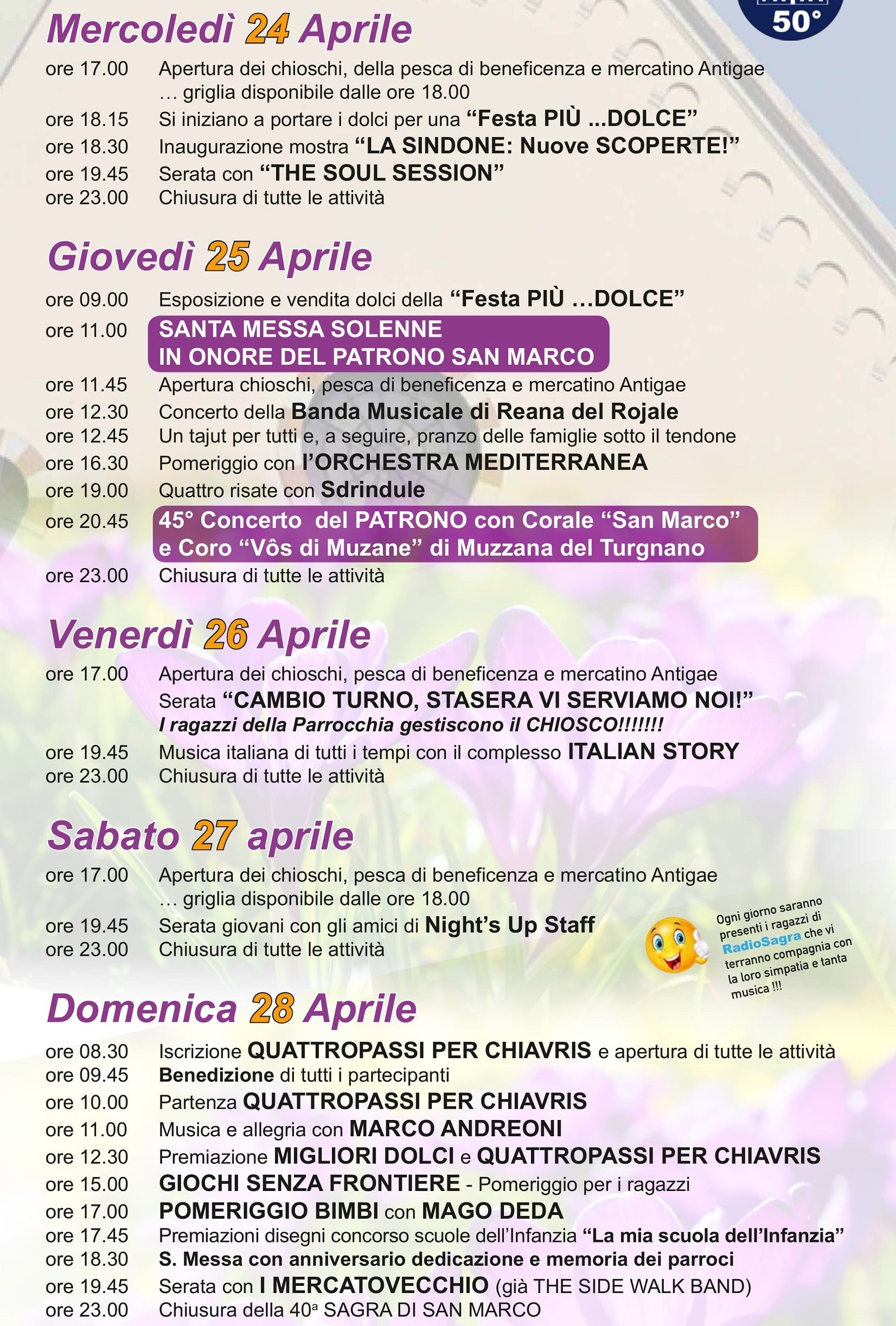 Sagra San Marco Udine 2019-2