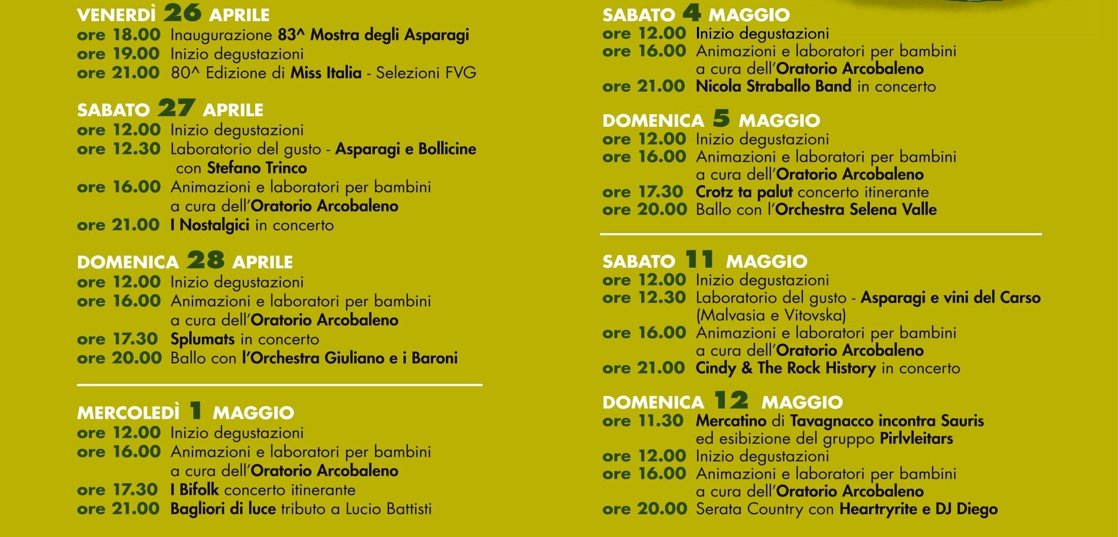 Festa degli asparagi 2019 Tavagnacco-2