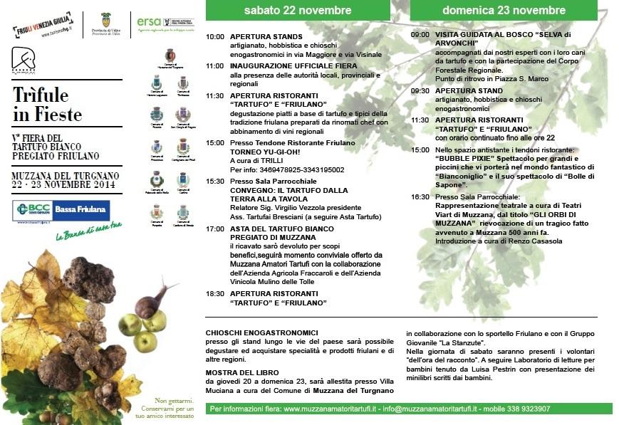 Muzzana del Turgnano - Ud - Quinta Fiera Tartufo - brochure-2