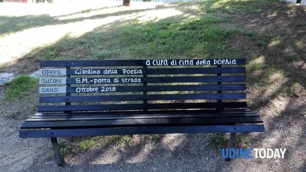 Il Giardino Della Poesia Restauro Letterario Al Parco Della