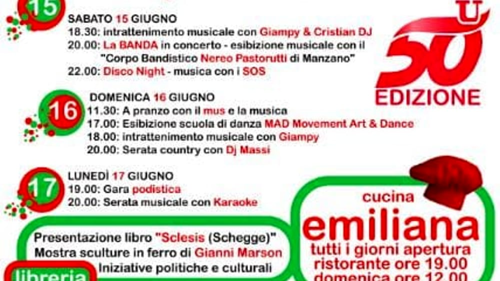 Programma Manzano 2019-2