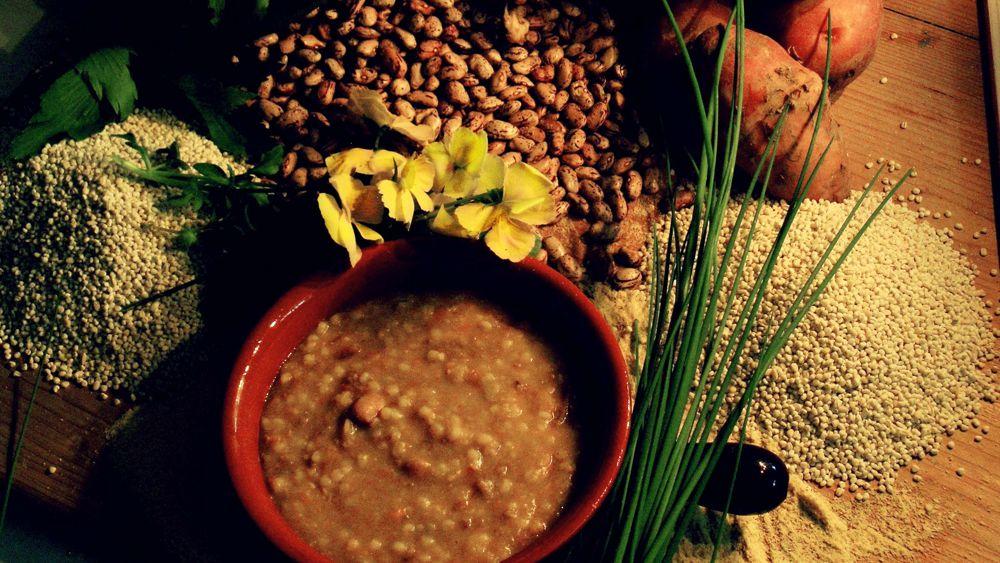 Carnia, gastronomia, fagioli, legumi, orzo, farro-2