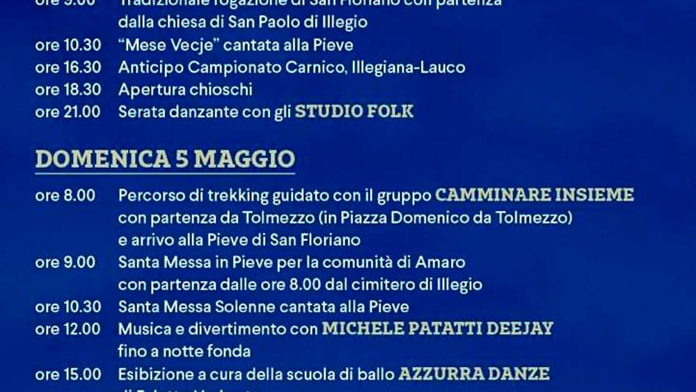 Sagra di San Floriano 2019-2