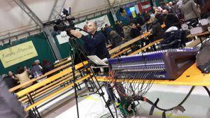 Record di presenze e frico da 180 kg in diretta TV per la 30 edizione della foghera di Latisanotta -4