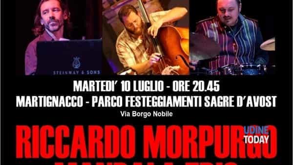 """""""Riccardo Morpurgo Mandala trio"""" a Martignacco"""