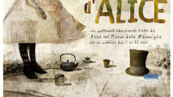 """Chiara de Bonis in scena con """"Alice nel Paese delle Meraviglie"""""""
