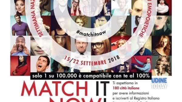 """Match it now!"" in piazza San Giacomo il 29 settembre 2018"