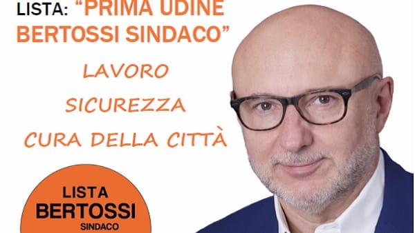 Prima Udine Bertossi sindaco si presenta alla cittadinanza