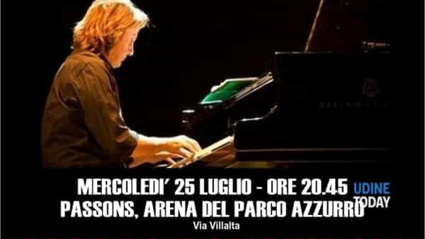 Marco Ponchiroli piano solo a Passons