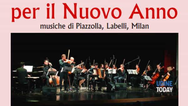 Gran concerto per il nuovo anno a Pasian di Prato