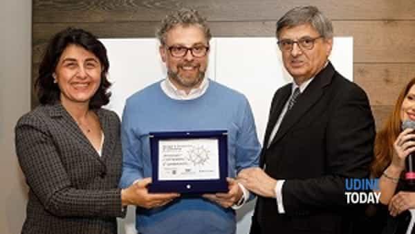 Manuel Cavallin di Treviso vincitore del 6° Concorso Design e Creatività, secondo classificato Zuliani Nicola (Palazzo di Sona Verona), 3° Paolo Morettin (San Giorgio di Nogaro UD)-2