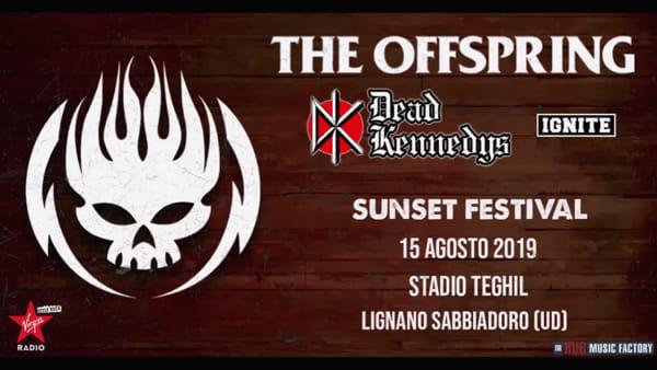 Gli Offspring si preparano per il concerto di Lignano, il chitarrista Noodles invita i friulani a modo suo!