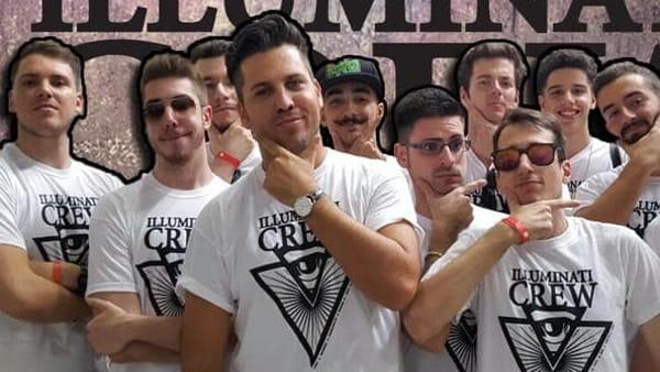 Youtuber mania al Terminal Nord, arrivano gli Illuminati Crew