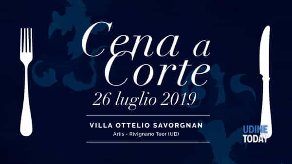 Cena a corte a Villa Ottelio Savorgnan