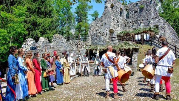 """Cergneu di Nimis ritorna al Medioevo con la festa """"Castrum Cernedum"""""""
