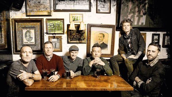La band americana celtic punk Dropkick Murphys al Festival di Majano 2020
