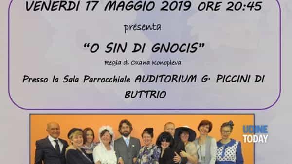 """""""O sin di gnocis""""  a teatro"""
