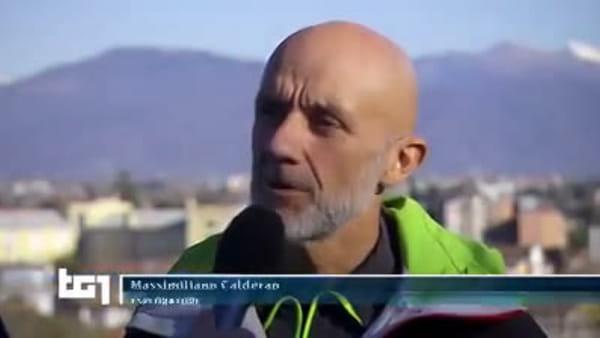 VIDEO Il friulano Max Calderan sfida il deserto più duro del mondo