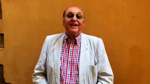 Renzo Arbore invita tutti a Lignano per il suo concerto