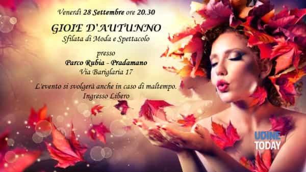 Gioie d'autunno: sfilata di moda e spettacolo a Pradamano
