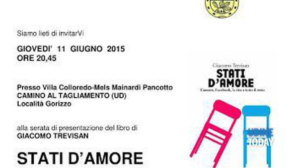 """Stati d'amore"" di Giacomo Trevisan a Camino"