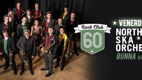 Il Rock Club 60 fa ballare tutti a ritmo di ska e reggae con la North East Ska* Orchestra e Bunna dj set