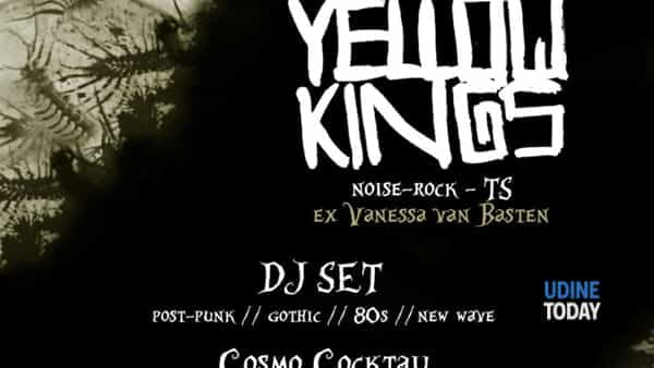 Dark Night: Yellow Kings / dj Cosmo Cocktail / dj Morgan Bellini