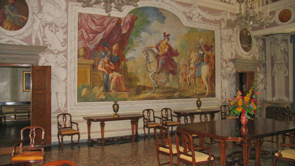Visita guidata a Palazzo Mantica di Udine