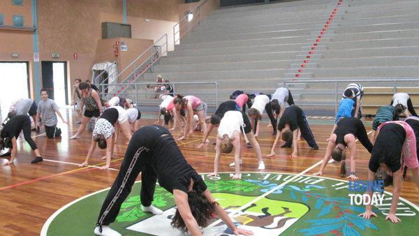A Pontebba la giornata mondiale dello Yoga