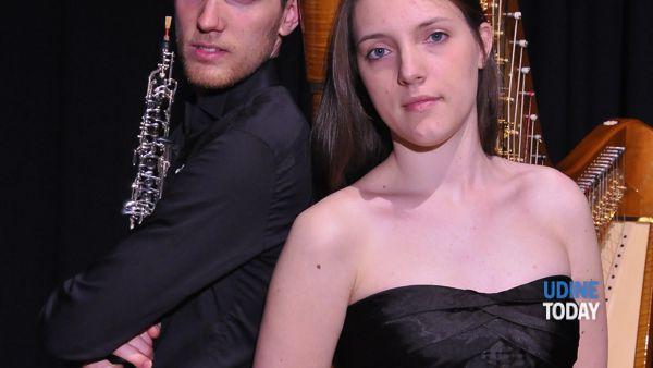 A San Giovanni al Natisone melodie per arpa e oboe