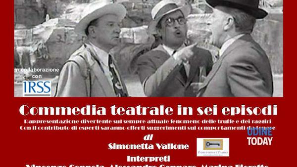 """In scena a TeatrOrsaria """"Occhio al furfante"""""""