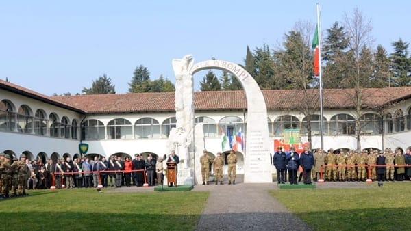 "Venerdì la cerimonia di saluto per la Brigata Alpina ""Julia"""