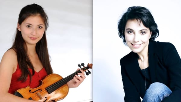 Duo di virtuose al Palamostre