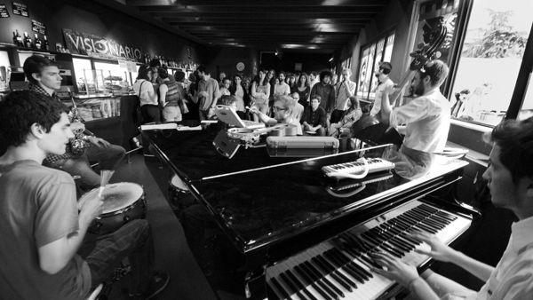 Visiojazz: sul palco del bar del Visionario la Earwash Band