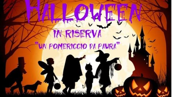 """""""Halloween in riserva: un pomeriggio da paura"""": la festa della Riserva di Cornino"""