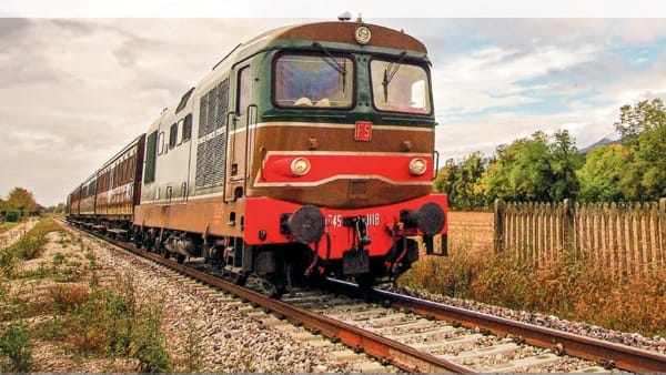 Domenica 30 giugno il treno storico accompagnerà gli amanti della bici a Gemona