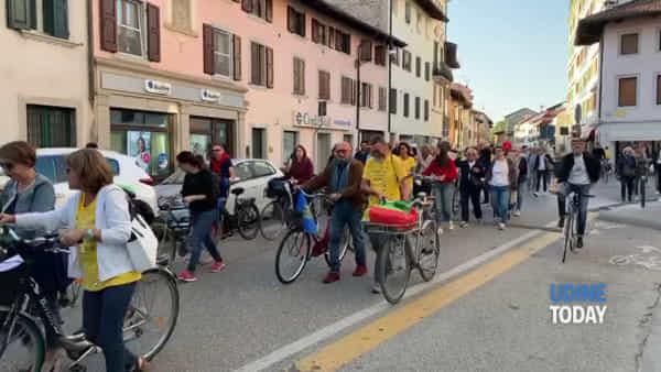 I cittadini in strada per una Udine più sostenibile