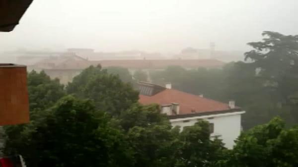Bomba d'acqua a Udine