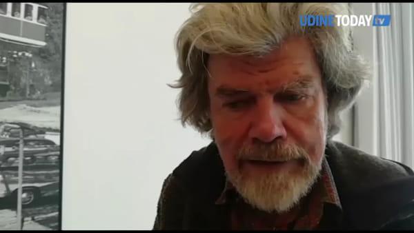 Le Alpi Giulie? Bellissime e solitarie. Così l'alpinista Rehinold Messner parla del FVG