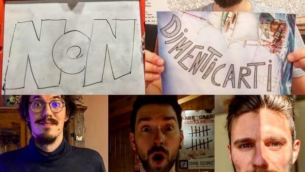 """Dalla quarantena un inno alla libertà, i Cinque Uomini sulla Cassa del Morto scrivono """"Non dimenticarti"""""""