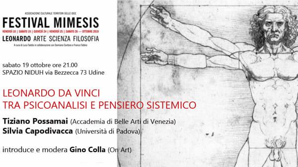 """""""Leonardo da Vinci: tra psicoanalisi e pensiero sistemico"""": l'incontro a Udine"""