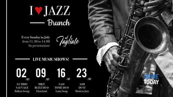 """I love jazz brunch al """"Tagliato"""""""